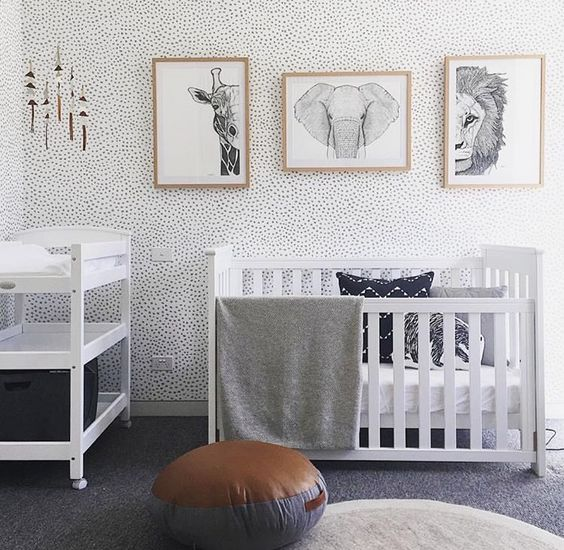 The Yellow Wallpaper Nursery Quotes 20 Gender Neutral Nursery Artwork Ideas Shelterness