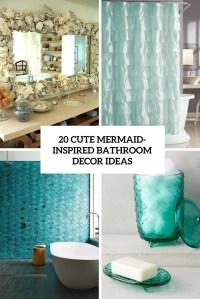 20 Cute Mermaid-Inspired Bathroom Dcor Ideas - Shelterness