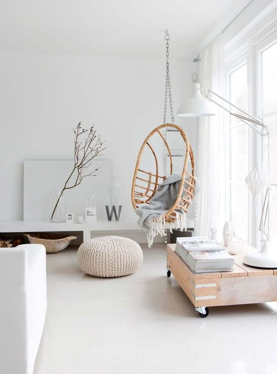 Sillas De Rattan 20 Hanging Wicker Chairs For A Vacation Vibe - Shelterness