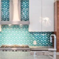 15 Edgy Geometric Kitchen Backsplashes To Get Inspired ...