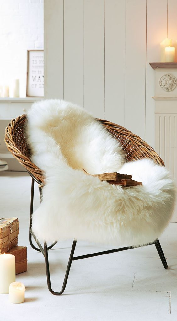 Rustic Chic 15 Faux Fur Home Decor Ideas To Cozy Up The Space