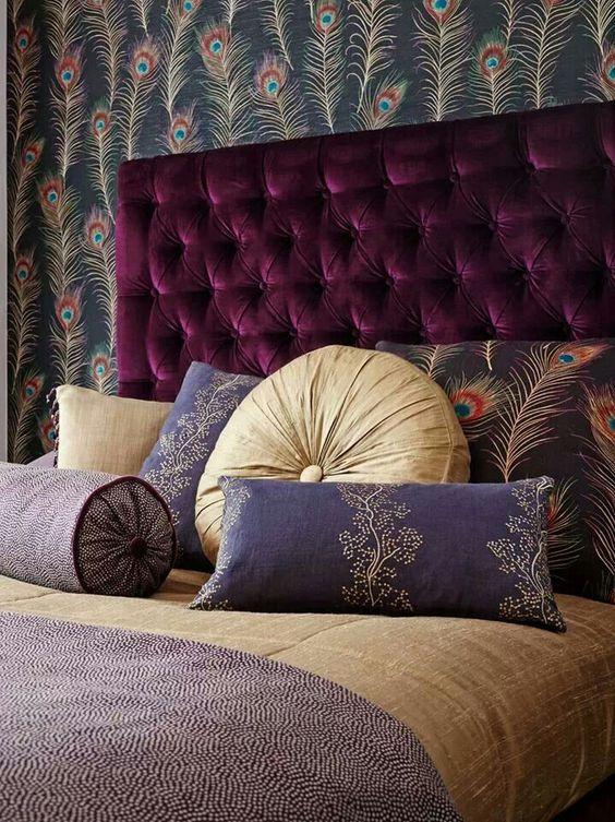 Minimalist Wallpaper Fall 15 Upholstered Headboard Ideas For A Cozy Bedroom