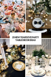 Table Decorations For New Years Eve Party | Modern Coffee ...