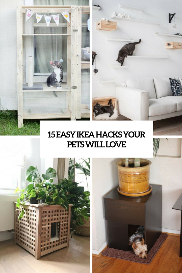 Ikea Hacks 15 Easy Ikea Hacks Your Pets Will Love Shelterness