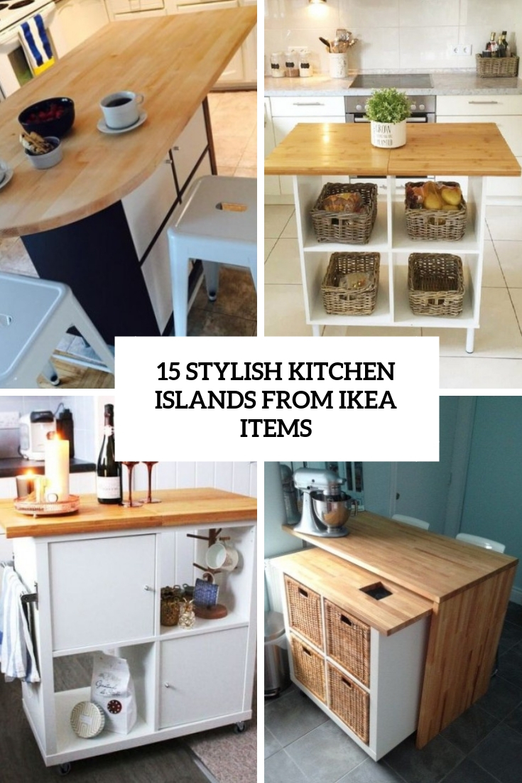 Ikea Küche Expedit 15 Stylish Kitchen Islands From Ikea Items Shelterness
