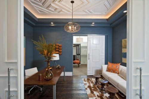 Wohnzimmer Modern Farbe 25 Cool Ceiling Molding And Trim Ideas - Shelterness