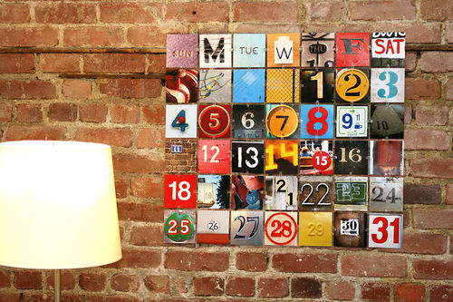 12 Cool DIY Perpetual Calendars - Shelterness