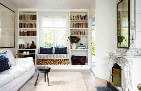 25 Cool Window Seats And Bookshelves Design Ideas