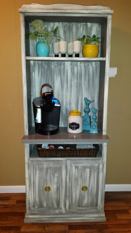 Shabby Chic Look 11 Diy Coffee Stations Made With Style - Shelterness