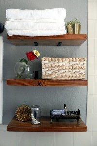 17 DIY Space-Saving Bathroom Shelves And Storage Ideas ...