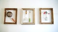 Picture Of Diy Wall Art Of Vintage Kitchen Tools