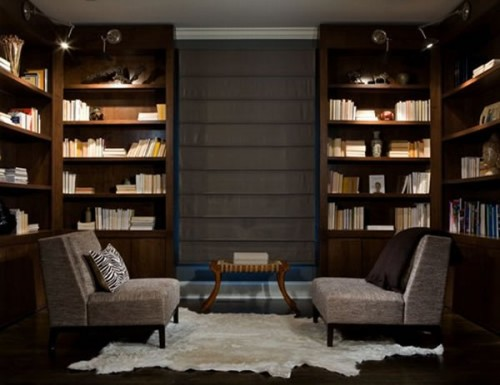 20 Cool Home Library Design Ideas - Shelterness - home library design