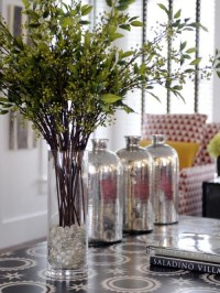 Picture Of How To Decorate Your Home With Branches In Vases