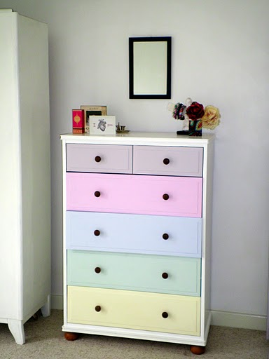 Ikea Malm Before & After - Kids Chest Of Drawers - Shelterness