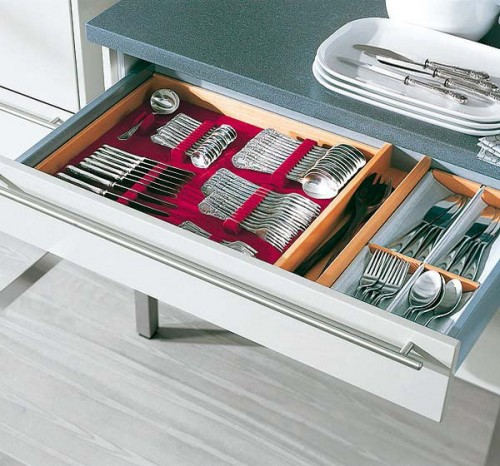 store cooking boards trays drawer simple metal kitchen utensils organizers choices top drawers