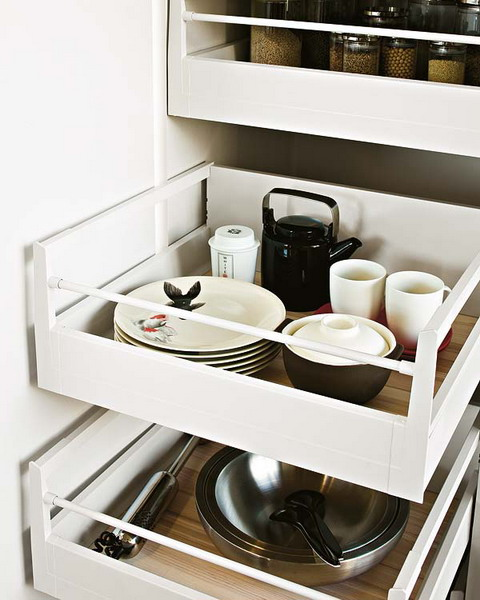 practical kitchen drawer organization ideas shelterness cool additional refrigerator drawers