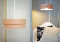 Picture Of Simple Diy Veneer Pendant Lamp