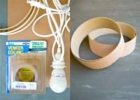 Simple DIY Veneer Pendant Lamp - Shelterness