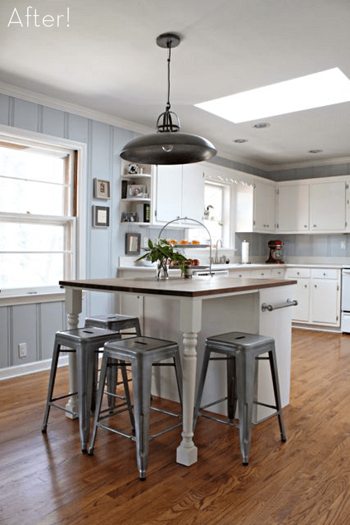 Stylish Kitchen Islands 14 Simple Homemade Kitchen Islands - Shelterness