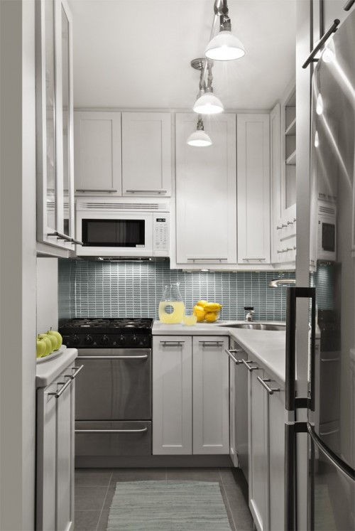 Super Narrow Kitchen Cabinet 51 Small Kitchen Design Ideas That Rocks - Shelterness