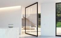 Pivoting room dividers - glass pivot doors  Portapivot