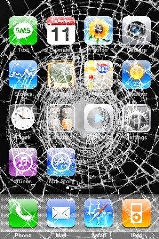 Cracked Screen Wallpaper Iphone 6 Fond D 233 Cran 233 Cran D Accueil Iphone Cass 233 Fonds D 233 Crans