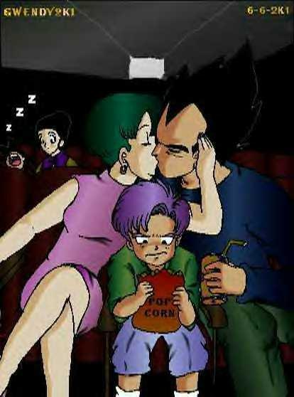 Anime Girl Funny Wallpaper Vegeta Et Bulma Et Trunks Au Cinema Blog De Freezer Mecha