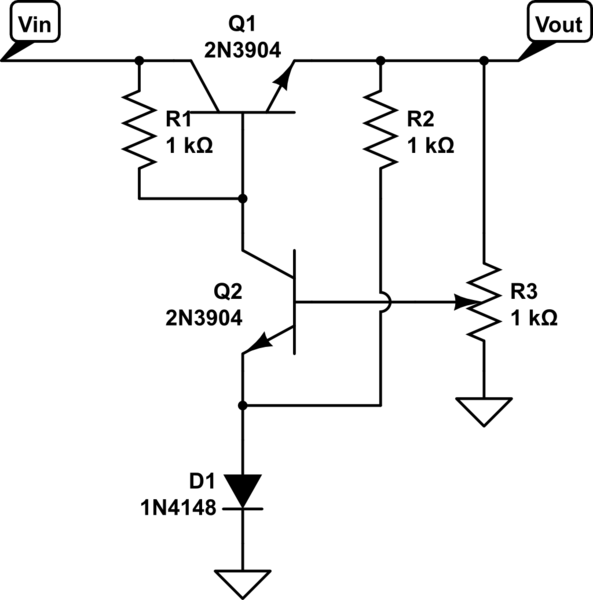 discrete voltage regulator