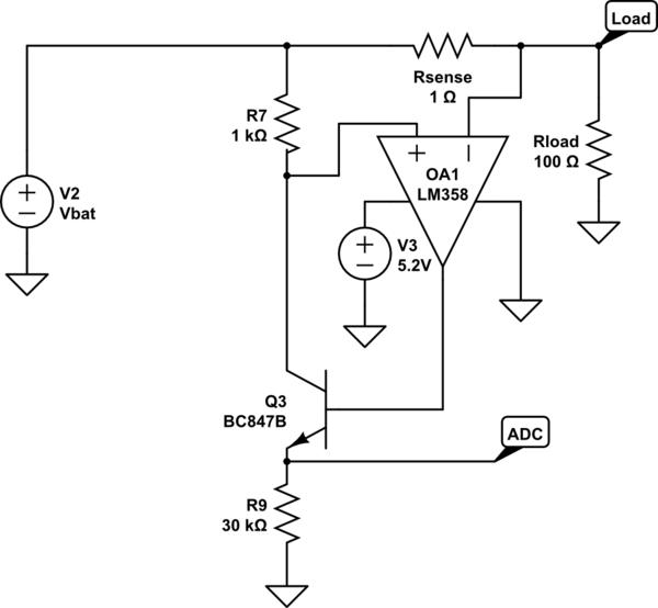 lm358 current sense circuit