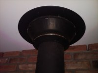 insulation - Does my wood stove pipe have to be chrome to ...