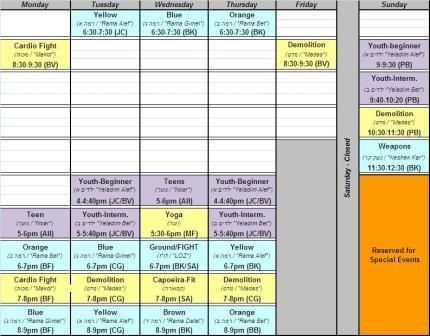 7 - Module for creating a timetable/weekly schedule - Drupal Answers - create a schedule