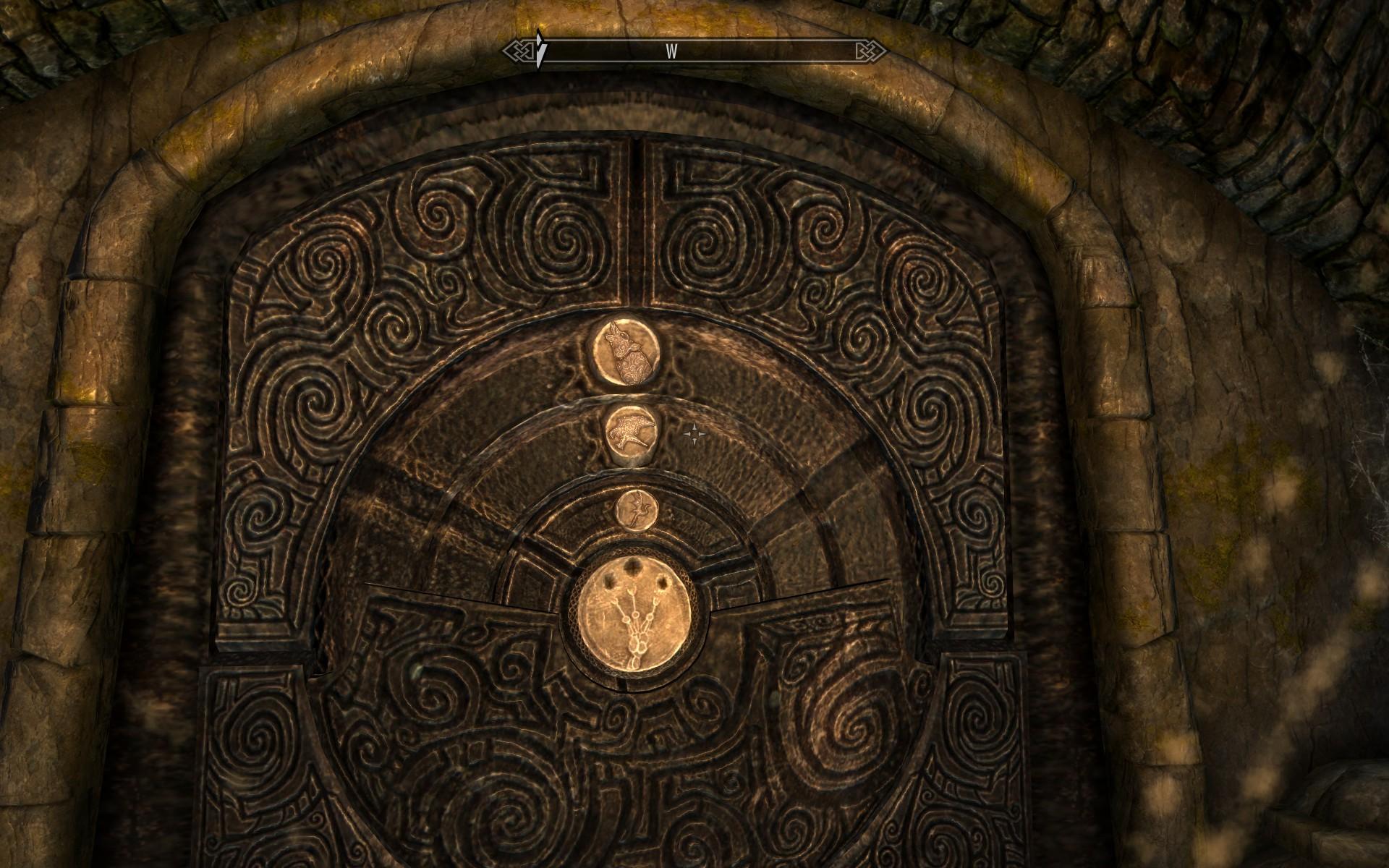 3d Stone Wallpaper For Walls The Elder Scrolls 5 Skyrim Combination For Door In Quot Find