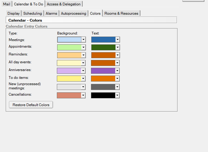 Add Calendar Lotus Notes Ibm Notes And Domino Wiki Lotus Notes Whats New In Lotus Notes How Do You Add Categories To The Colors Tab