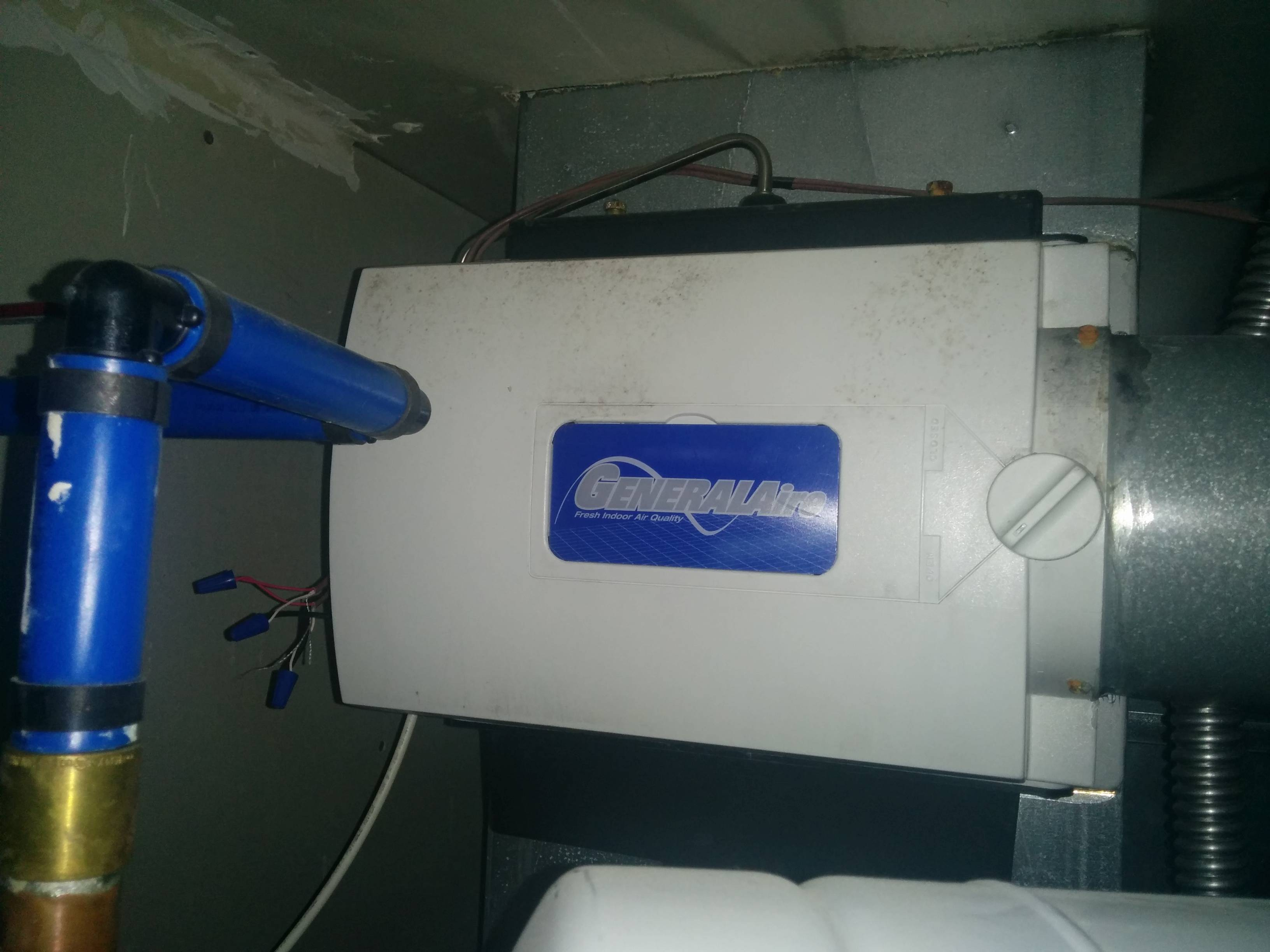 Heating Using A Humidistat Humidifier Home