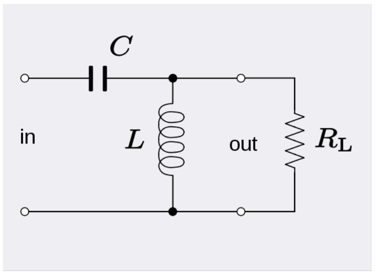 rc circuit for bode analysis