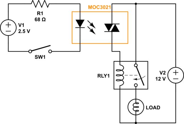 triac application circuit
