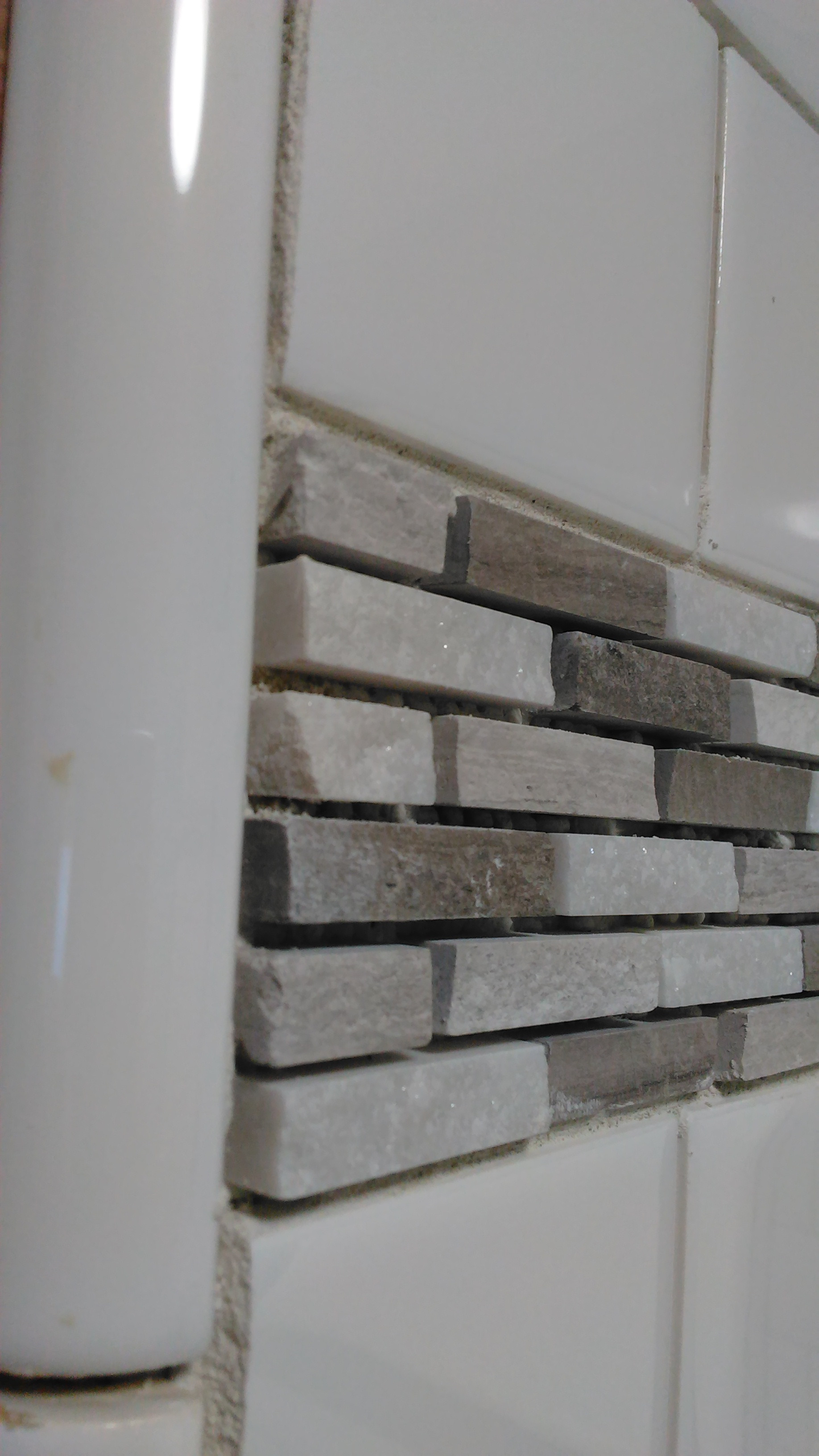 Grout Mosaic Tile Tile What Is The Most Effective Way To Grout Between