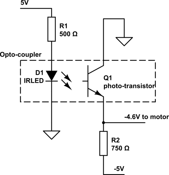 transistor and optoisolator electrical engineering stack exchange