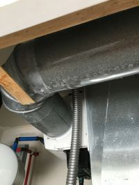 Insulating sweating HVAC duct | DiyXchanger ...