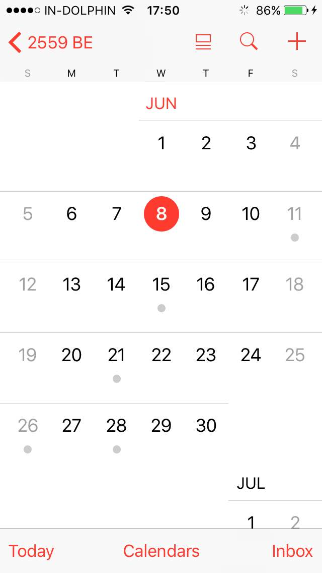 calendar - iphone showing strange dates in all apps - Ask Different