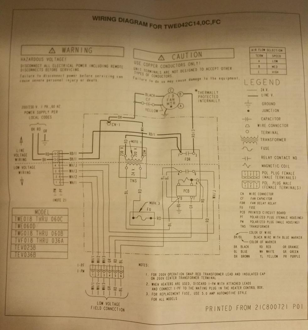 american standard thermostat asystat 606 wiring diagrams