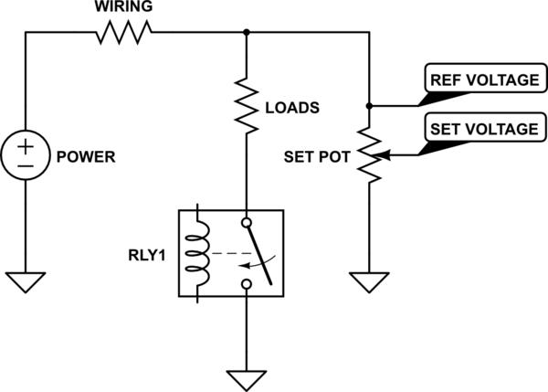 wiring voltage drop