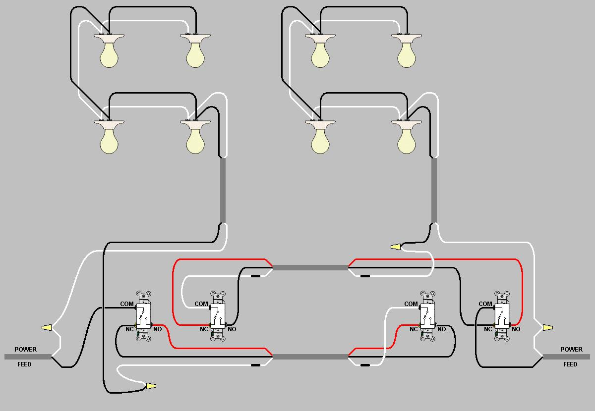 connecting 2 3way switches