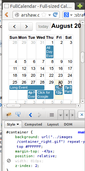 Make Jquery Calendar Small Create A Jquery Calendar With Ajax Php And Mysql New Mobile Responsive Calendar For Bootstrap 3 Stack Overflow