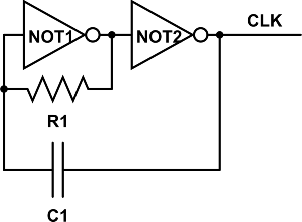 simple rc oscillator circuit