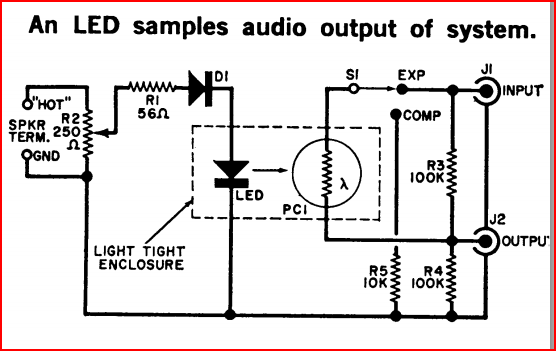 audio compander circuit schematic