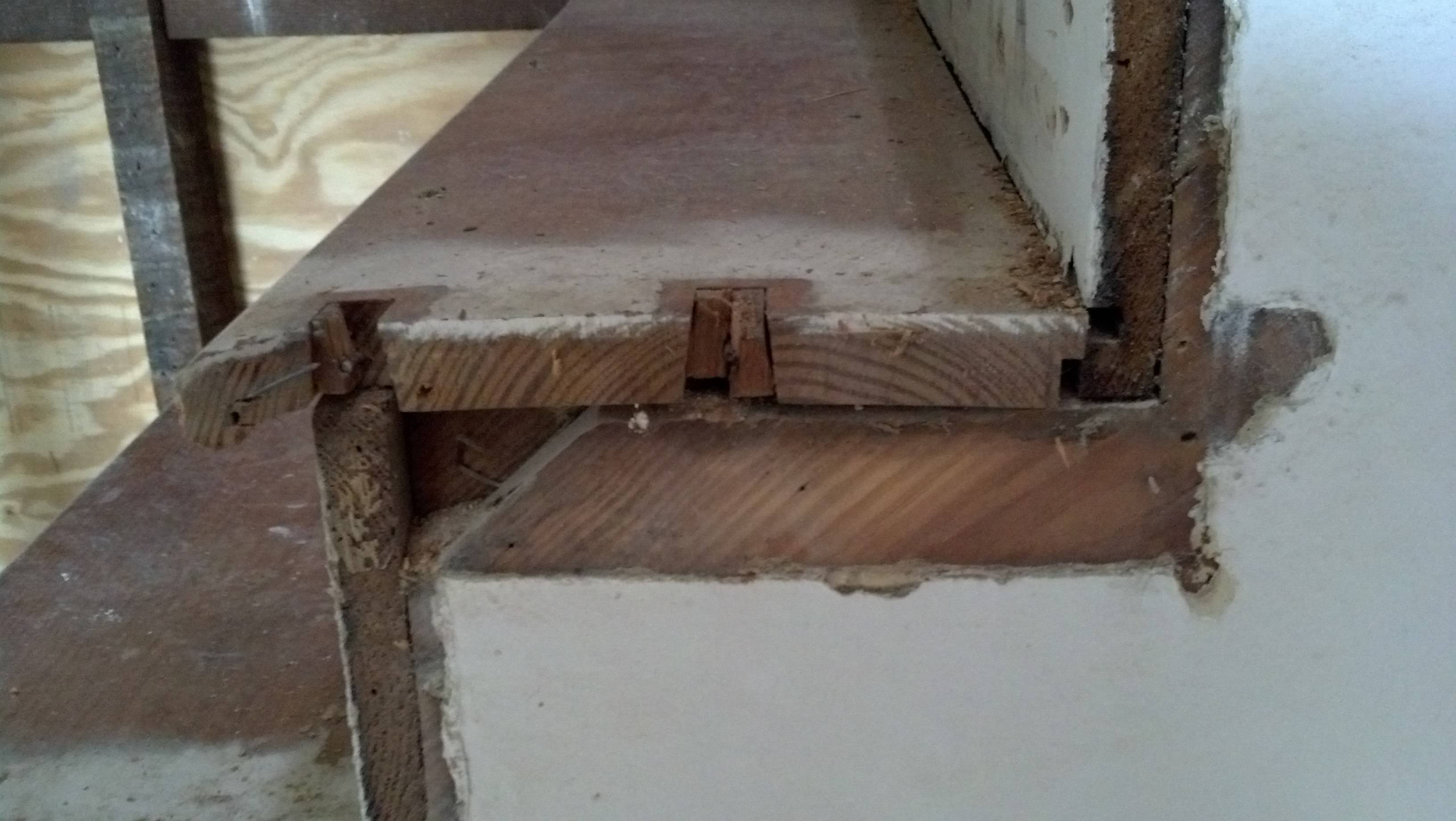 How Should Stair Treads And Risers Be Assembled Home Improvement Stack Exchange