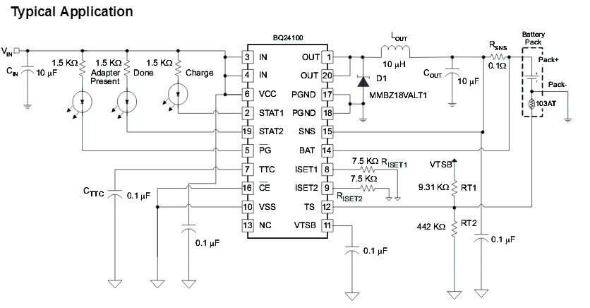 Battery Charger Using Max712 Trickle Charge Schematic Diagrams