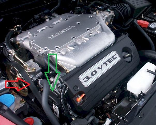 2003 honda v6 engine diagram