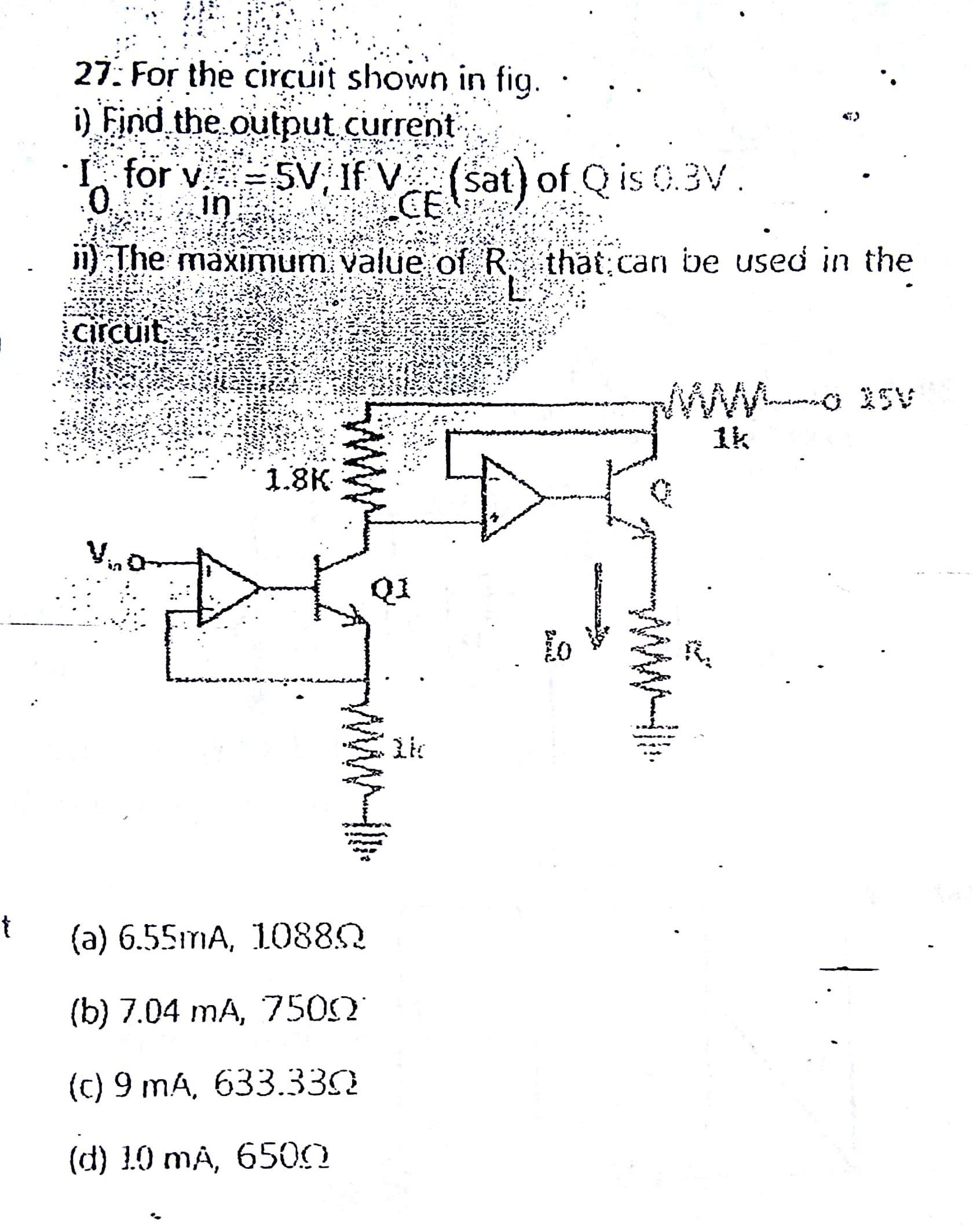 operational amplifier circuit analysis